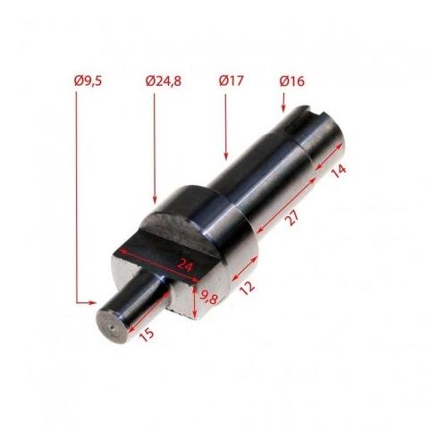 RO-Eje de traccion Picadora Fama 12 -22