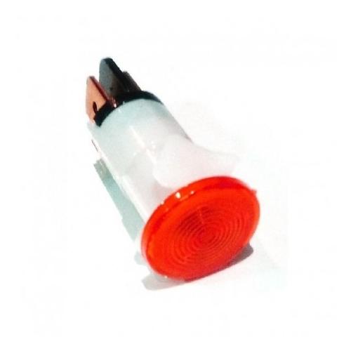 RO-Piloto Rojo Ø12mm 230V