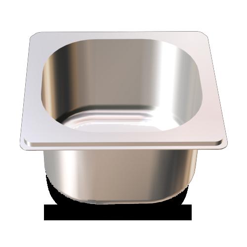 PRU-Cubeta gastronorm 1/6 (162x176 mm)