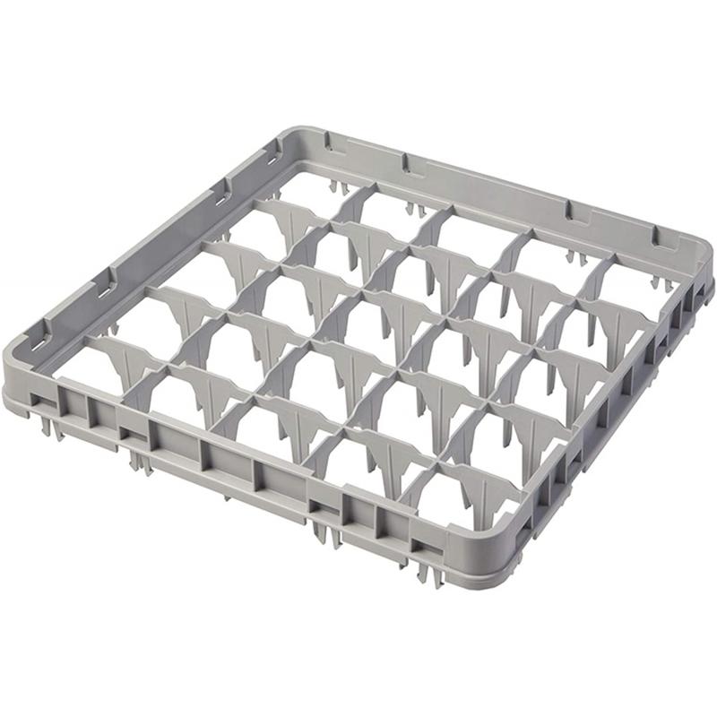 RO-Cesta para cesta de vasos (500 x 500 x 51 mm, altura útil 41 mm, 25 compartimentos)