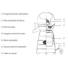 RO-MOTOR COMPLETO EXP.MOD.5