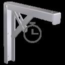 RO-Acoplar cartelas abatibles (par) a estante de fibra