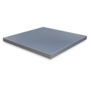 RO-Estante liso para Imagine de 325x325x20 mm.