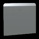 RO-Peto postizo perforado para acoplar a lavamanos de 450 mm. Dimensiones: 453x400 mm.
