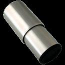 RO-Taco inoxidable de ø63,5x150 mm. M12 mm. Altura máx: 215 mm. Altura mín: 150 mm.