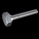 RO-Tornillo cabeza hexagonal rosca métrica M5x12 mm. DIN 933 A2 (x100)