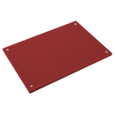 RO-Fibra estándar roja 400x200x15 mm. Con tacos.