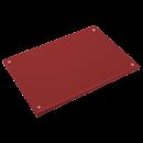 RO-Fibra estándar roja 300x200x20 mm. Con tacos.