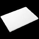 RO-Fibra estándar blanca 300x200x15 mm. Con tacos.